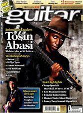 Tosin Abasi Marshall JVM  JVM JS Fender Satin Series Saxon   - Gitarre Workshops