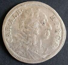 30 Kreuzer 1/2 Gulden 1732 Bayern Karl Albrecht alte Silber Münze