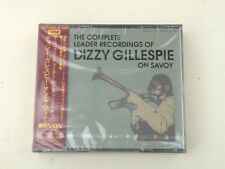 DIZZY GILLESPIE - THE COMPLETE LEADER RECORDING ON SAVOY - 2 CD JAPAN NUOVO/NEW