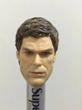 "1/6 Scale Michael C. Hall Head Sculpt Dexter for 12"" Action Figure"
