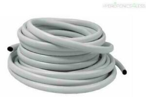 White PVC Reinforced Hose IWS System AutoPot Pipe Hydroponics 13mm 19mm 25mm