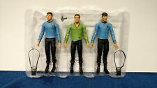 Art Asylum Star Trek Wave One Action Figures Capt Kirk Spock Dr McCoy 2003