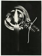 23x17cm Vintage Orig Foto Experimentell Glühbirne + Kerze photo