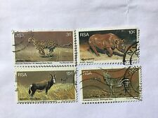 1976 RSA South Africa Complete Set SC 465-468