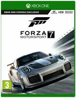 Forza Motorsport 7 Xbox One MINT Same Day Dispatch 1st Class Super Fast Delivery