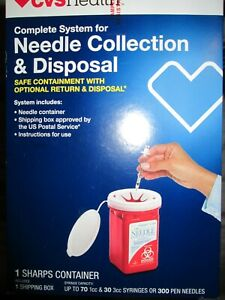 CVS HEALTH NEEDLE COLLECTION AND DISPOSAL