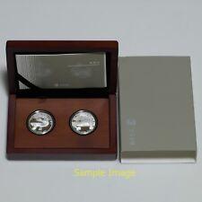 2016 South Korea 50,000 Won Silver Proof 2 Coins Set - Korean Cultural Heritage
