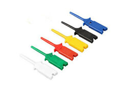 10 Pcs Test Clip Mini Grabber SMD IC Hook Probe Jumper ColorfulIJRU