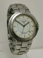 Vintage Tissot Powermatic 100 Autoquartz P881/981 Gents Wrist Watch Glass Back