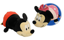 Disney Mickey Mouse to Minnie Mouse FlipaZoo 2 in 1 Plush 14""