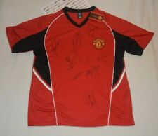 MANCHESTER UNITED 11 PLAYERS SIGNED AUTOGRAPHED JERSEY PSA/DNA LOA COA Z05051