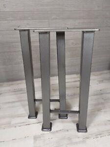 Bighorn Series Powder Coated Sofa Table Legs w/shelf bracket