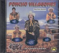 Poncho Villagomez Y Sus Coyotes Del Rio Bravo Rosas Y Alcohol CD New Sealed