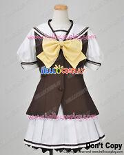 Shuffle Cosplay Lisianthus Kaede Fuyou Uniform Costume H008