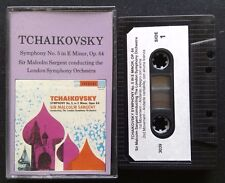 Tchaikovsky Symphony No.5 In E Minor Opus 64 Sargent LSO Tape Cassette (C14)