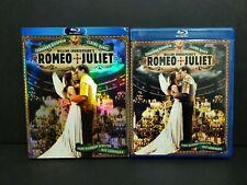 Romeo + Juliet (Blu-ray, 2010) w/ OOP Rare Slipcover William Shakespeare