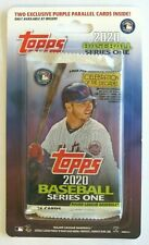 2020 Topps Series 1 Meijer Blister Pack w/ 2 Purple Parallel Exclusive RARE