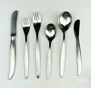 86pc WMF Cromargan Germany Laurel 1967 Mid Century Flatware Spoon Fork Knife SMS