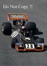 John Watson Brabham BT42 Monaco Grand Prix 1974 Photograph 2