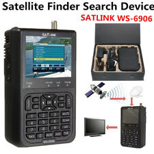 SATlink WS-6906 3.5'' DVB-S FTA Data Digital Satellite Dish Signal Finder