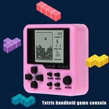 Hand Held Mini Tetris Game Machine Electronic Toys Brick Toys Educational Game