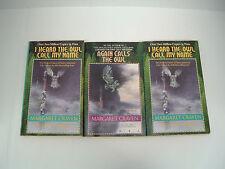 Margaret Craven 3 PB book lot I heard the owl call my name. again calls the owl