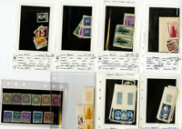 Monaco Stamps Early mint NH Imperf Sets/Singles. Scarce offering