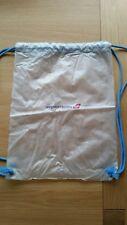 VINTAGE VIRGIN ATLANTIC Drawstring gym bag Airline NEW Backpack TOILETRY BAG