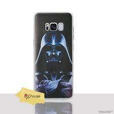 Star Wars Case/cover Samsung Galaxy S7 Edge Screen Protector / GEL Darth Vader