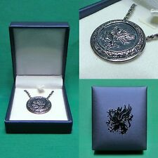 Dragon Age Grey Warden Oath Amulet Necklace with Metal Chain Officially Licensed