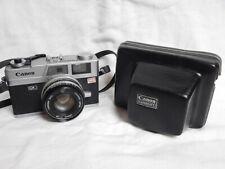 CANON Canonet QL19 Rangefinder Camera 45mm f1.9 + BAG Borsa Excellent
