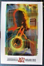 Jacksonville Jazz Festivel 2013 - Autographed Poster - Jacksonville, FL