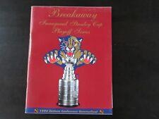 Florida Panthers Playoff Program 4/27/96 vs Boston Bruins Game 5
