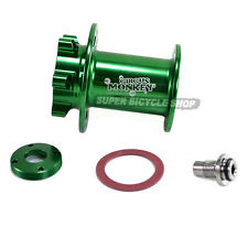 Circus Monkey Disc CNC Lefty  Front Hub For Cannondale,28 Hole,Green