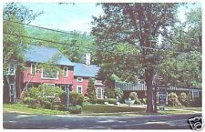 Vintage Postcard Yale Barn Canaan & Norfolk CT 1960
