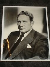 Spencer Tracy MGM Movie Star B&W publicity photo late 40's early 50's