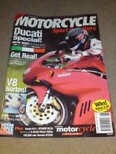 MOTORCYCLE SPORT & LEISURE - V8 NORTON - June 1998