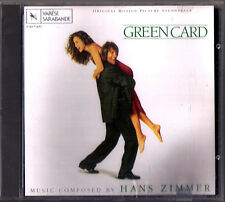 GREEN CARD Hans Zimmer OST Varèse Sarabande CD Larry Wright Varese Soundtrack