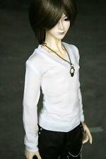 [wamami] 06# White T-Shirt Outfit 1/3 SD DOD DZ BJD Dollfie Doll