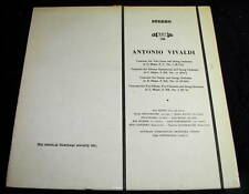 Antonia Vivaldi Music Heritage Society LP VG++ MHS 788