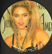 """MADONNA - INTERVIEW PICTURE DISC (12"""" VINYL UK LIMITED EDITION)"""