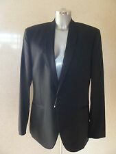 BEN SHERMAN Camden Tailored Skinny Fit Jacket Black Size 42 R  NEW TAGS