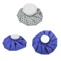 3Pcs Ice Bag Compress Pack for Pain Fever Injuries Swelling Relief 6''/9''/11''