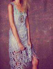 NWOT ☮ FREE PEOPLE Gray Debbie'S Limited Edition Dress ☮ Size 6