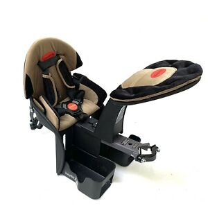 WeeRide Center Front Mounted Bicycle Kangaroo Child Carrier Bike Seat, Head Rest