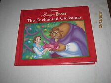 Disney's Beauty And The Beast , The Enchanted Christmas,Copyright 1997,Book b79
