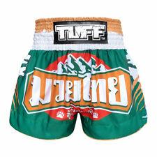 Tuff Muay Thai Boxing Shorts Green NavyBlue White F 00004000 itness Mma Kick Training 6I
