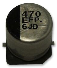 Capacitors CAP ALU ELEC 470UF 10V SMD REEL - Pack of 500