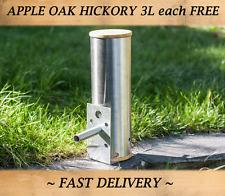Smoke generator for Hot & Cold smoking in BBq & Food smoker FREE wood chips :-)