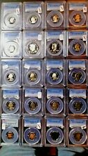 PCGS Overstocked Lot of 20 Slabbed US Coins (Lot #001)